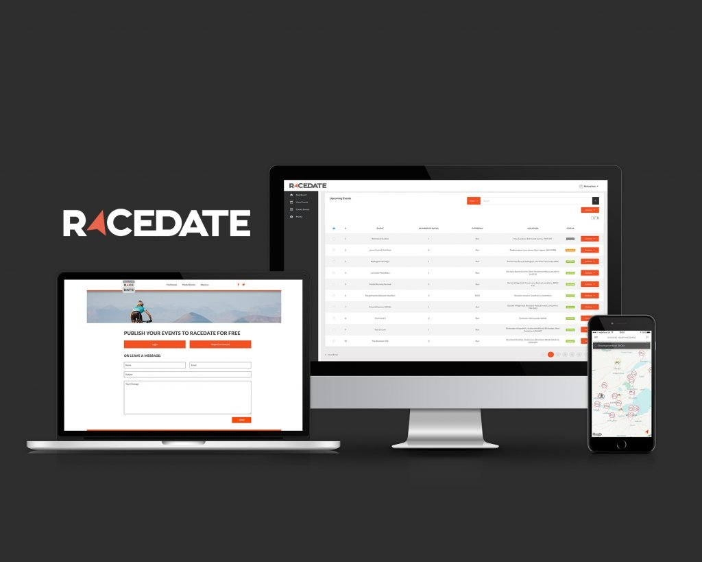 Racedate - Web and App Development